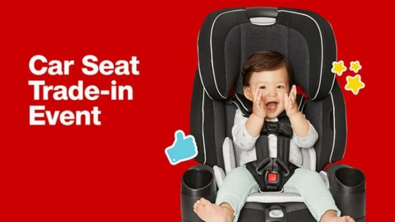 Target's eco-friendly car seat trade-in program is back!