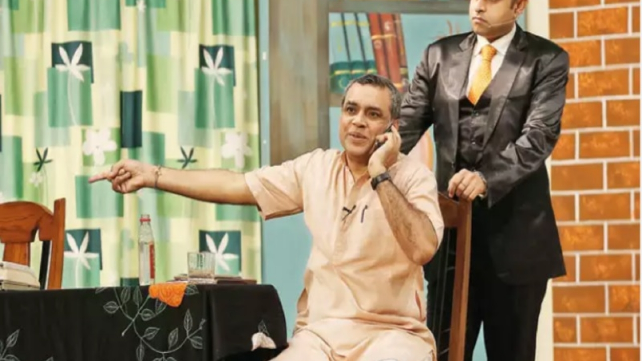 Paresh Rawal will be the new chairperson of the National School of Drama