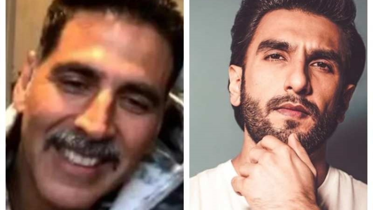 Ranveer Singh's comment on Akshay Kumar's moustache look will leave you stunned
