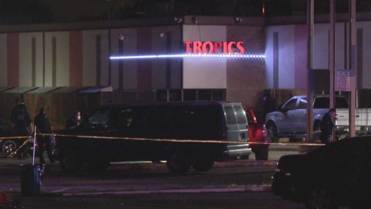 1 killed and 1 injured in shooting outside Dallas nightclub