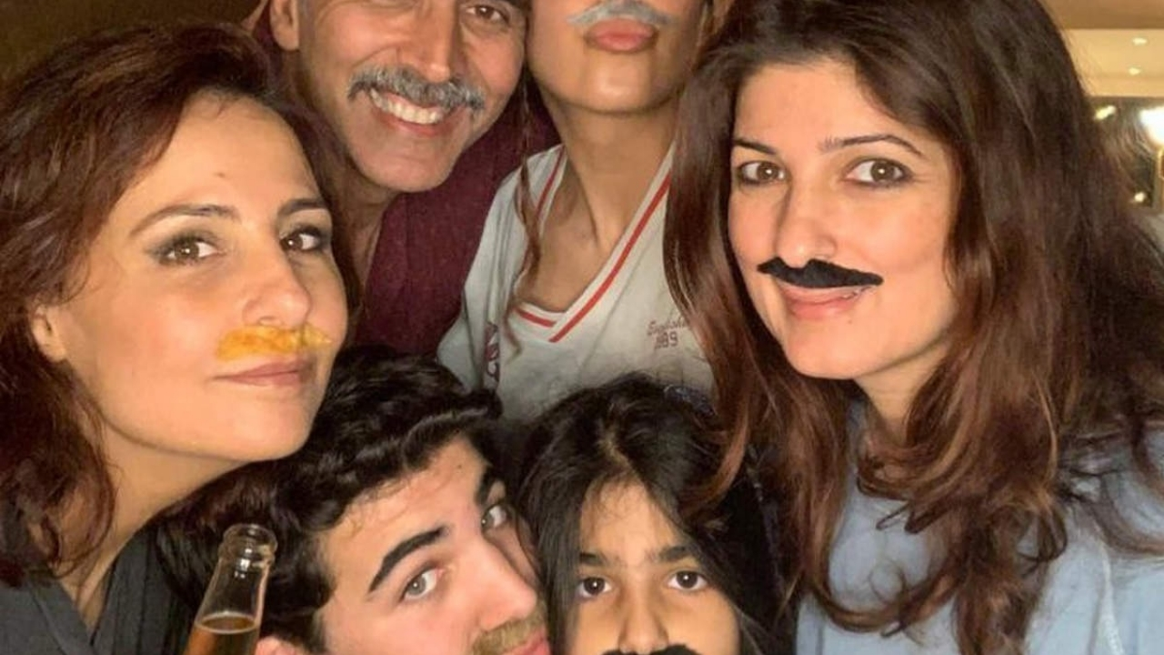 Twinkle Khanna writes an emotional post for her son Aarav on his 18th birthday.