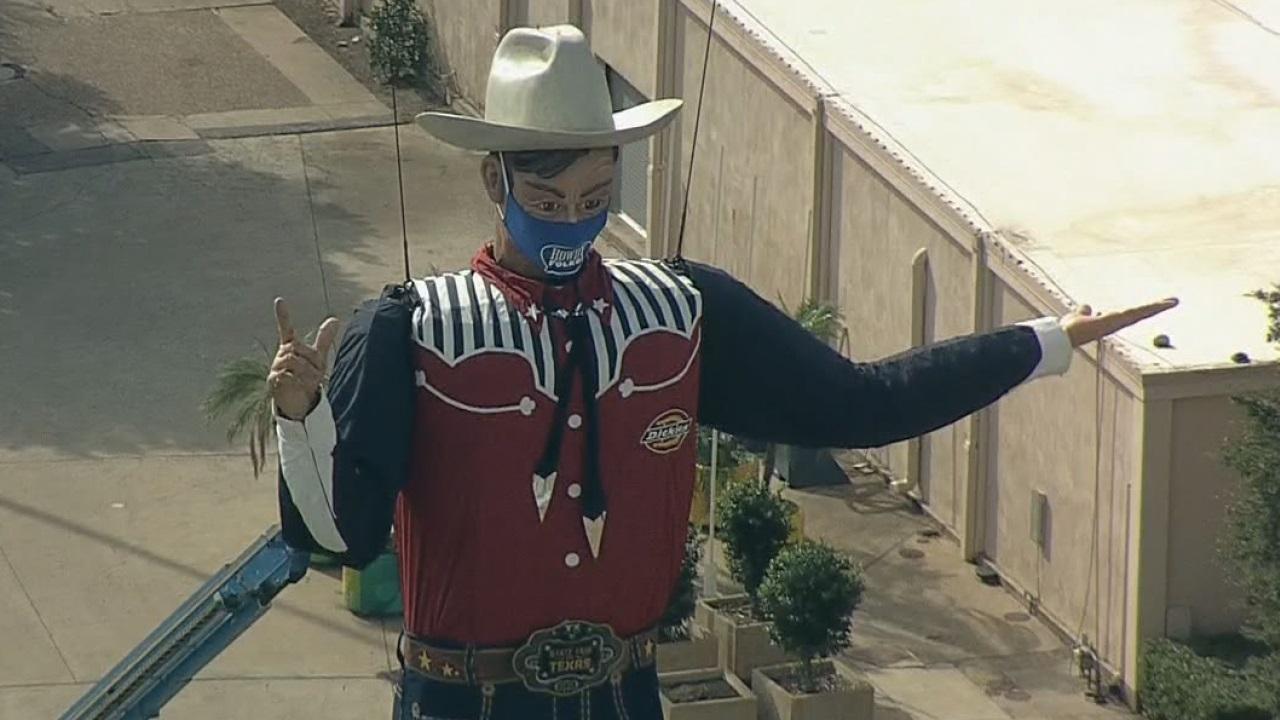 Big Tex returns to Fair Park for 2020 drive-thru experience
