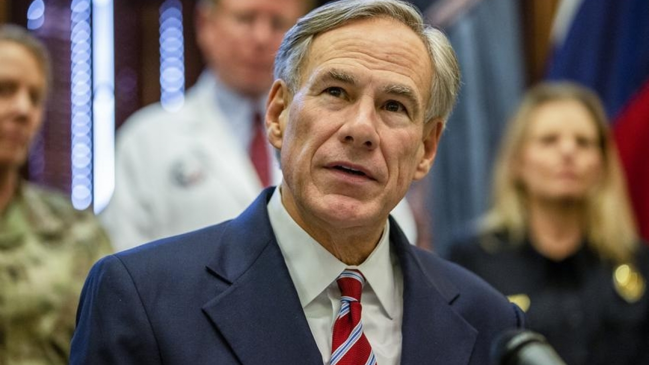 Governor Greg. Abbott may discuss state's COVID-19 response