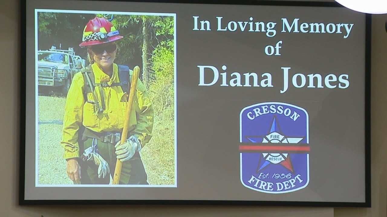 Memorial held for 63-year old North Texas firefighter killed in California wildfires