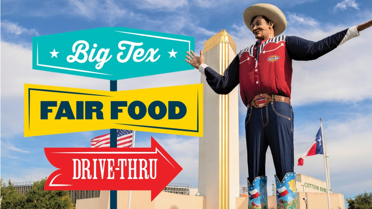 State Fair of Texas opens from Friday for drive-thru food event