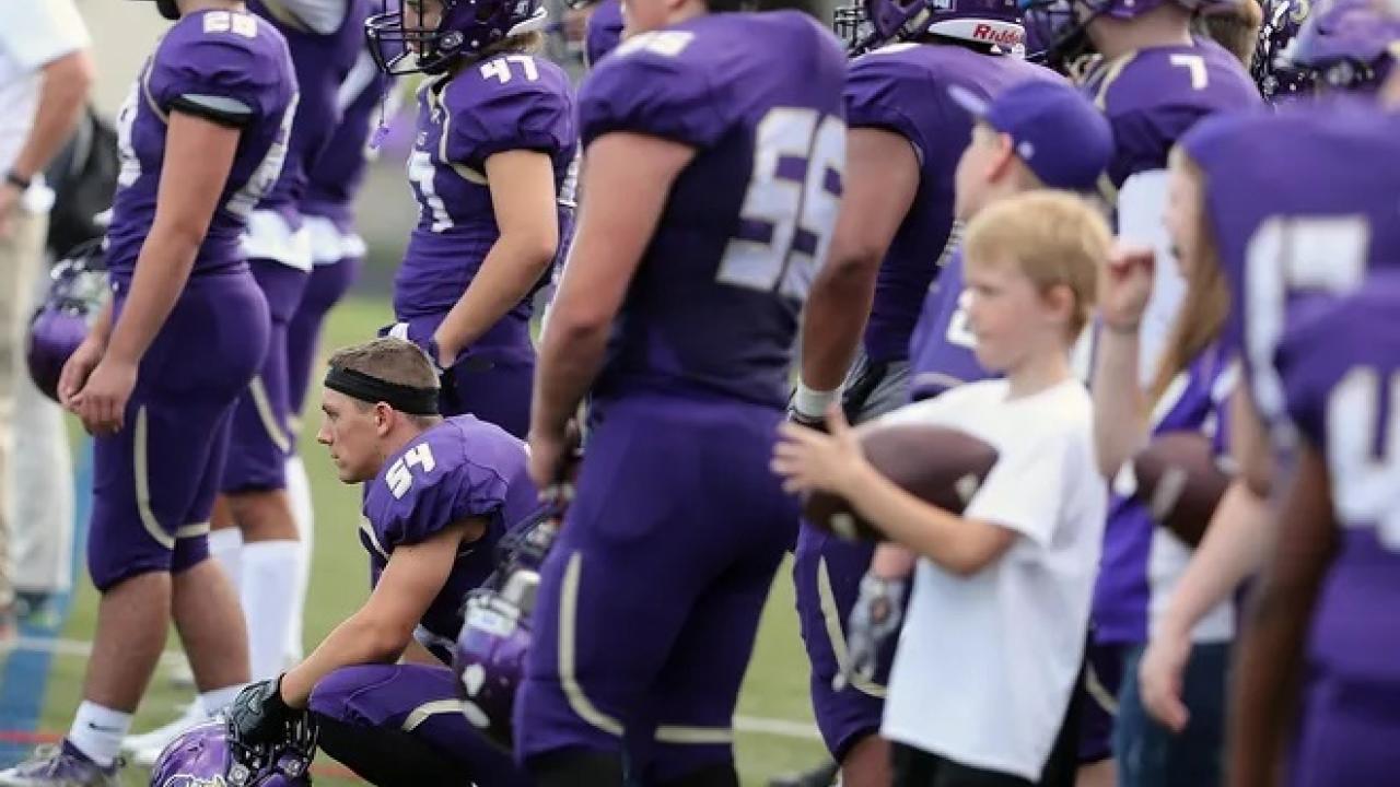 High school football program returns to schools