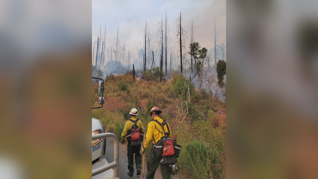 Another group of North Texas firefighters leaves today to battle California wildfires