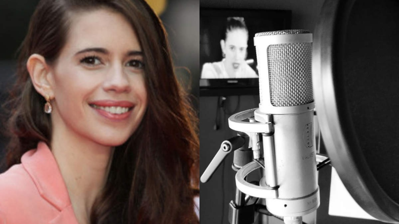 Kalki Koechlin back to work as she shares a selfie from the dubbing studio