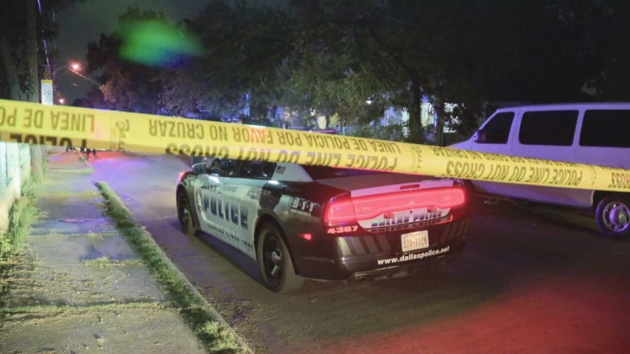 A 38-year-old man fatally shot and killed overnight in West Dallas