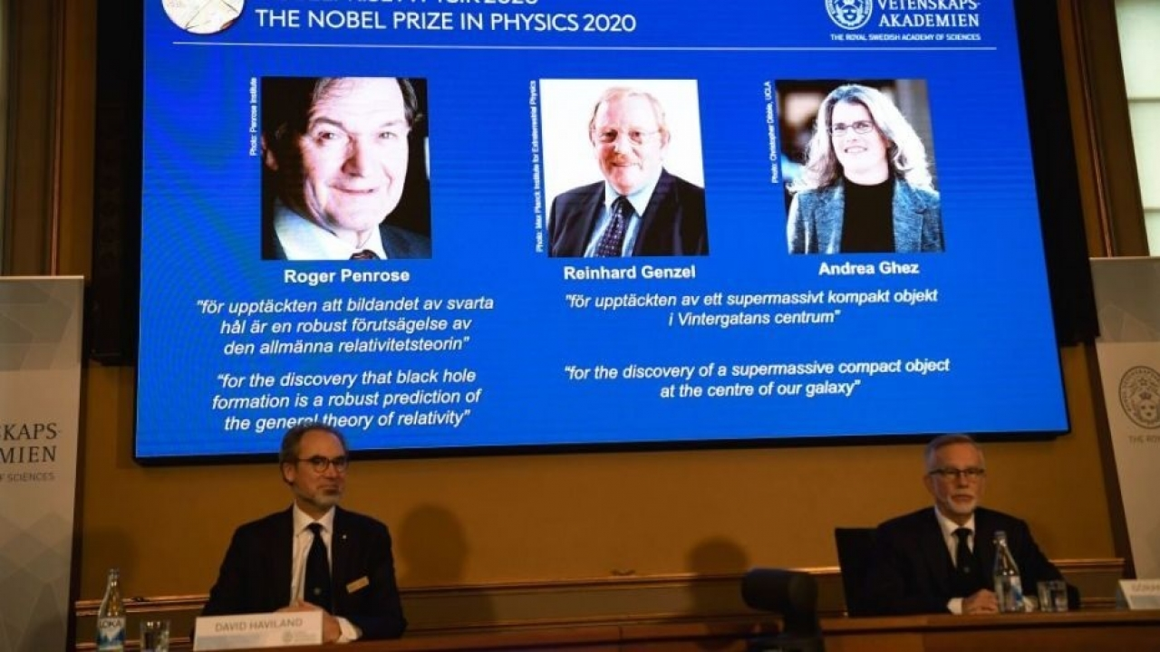 3 scientists will receive Nobel physics prize for cosmology findings