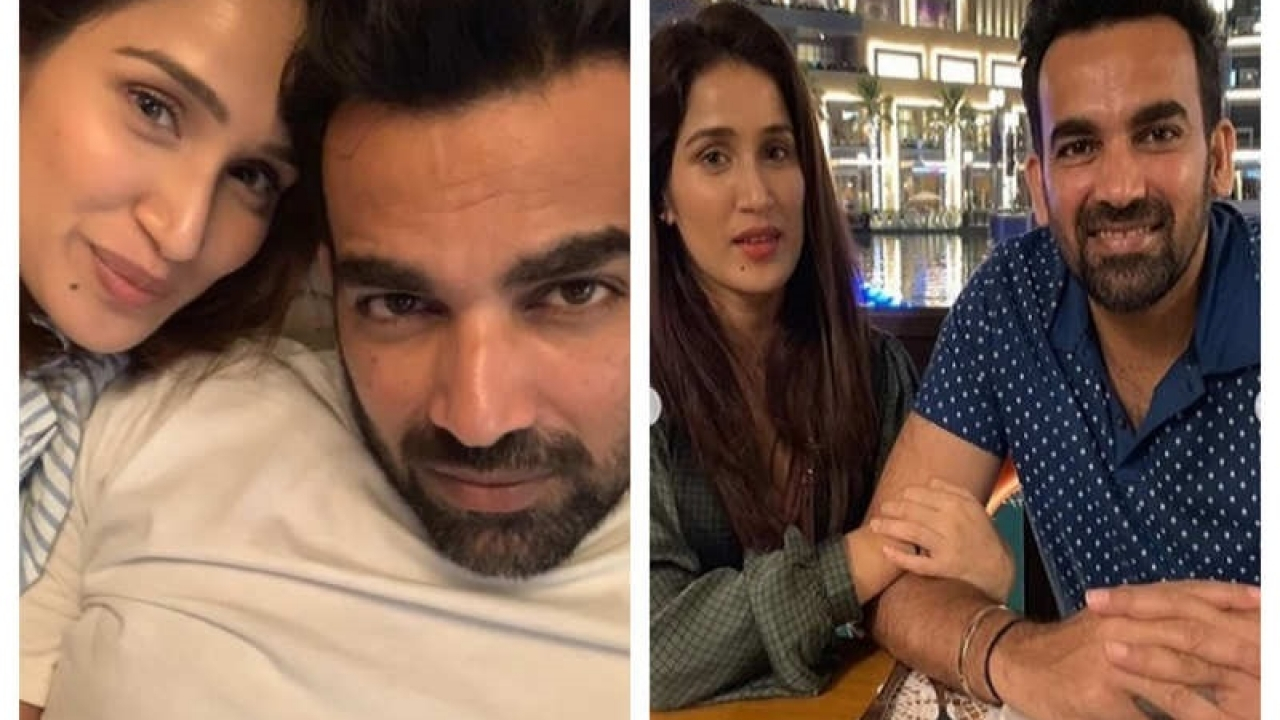 Sagarika Ghatge wishes her husband Zaheer Khan in a very special way