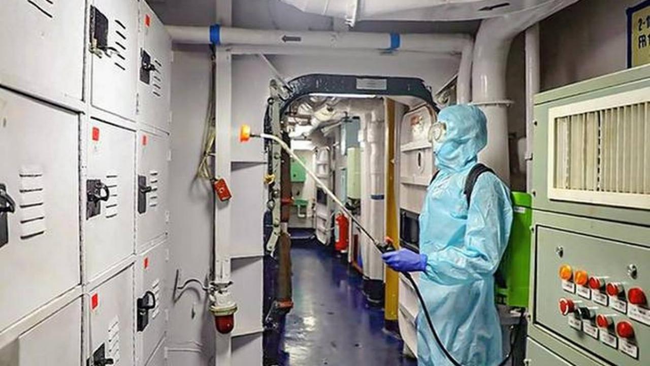 Coronavirus $40 charge for sea evacuation by Navy