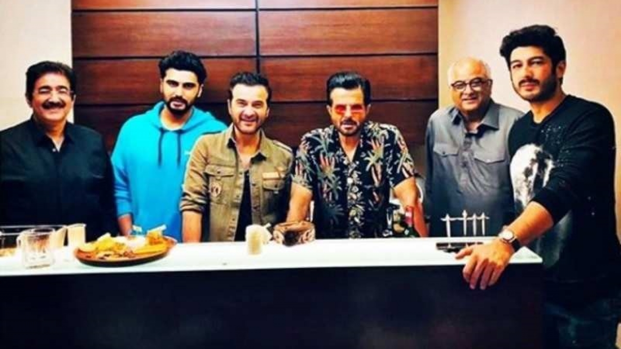 This picture from Sanjay Kapoor's birthday bash will give you major family goals