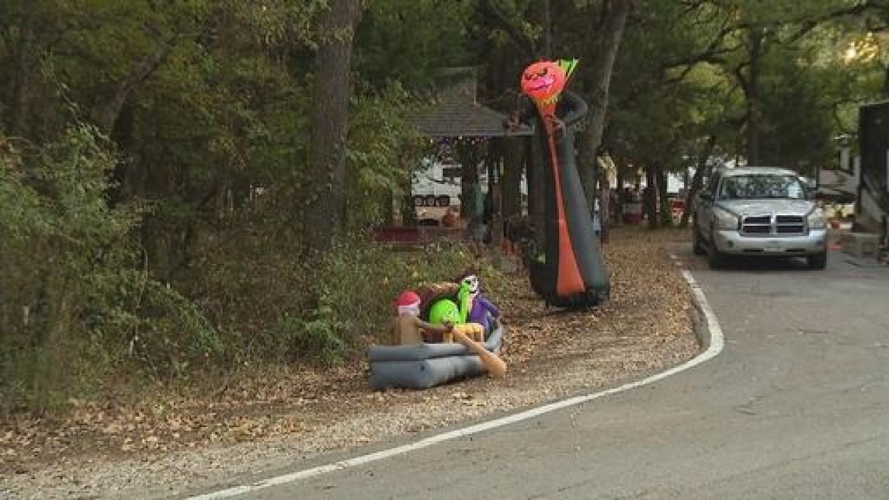The city of Grand Prairie all set for the annual Halloween event during the health pandemic