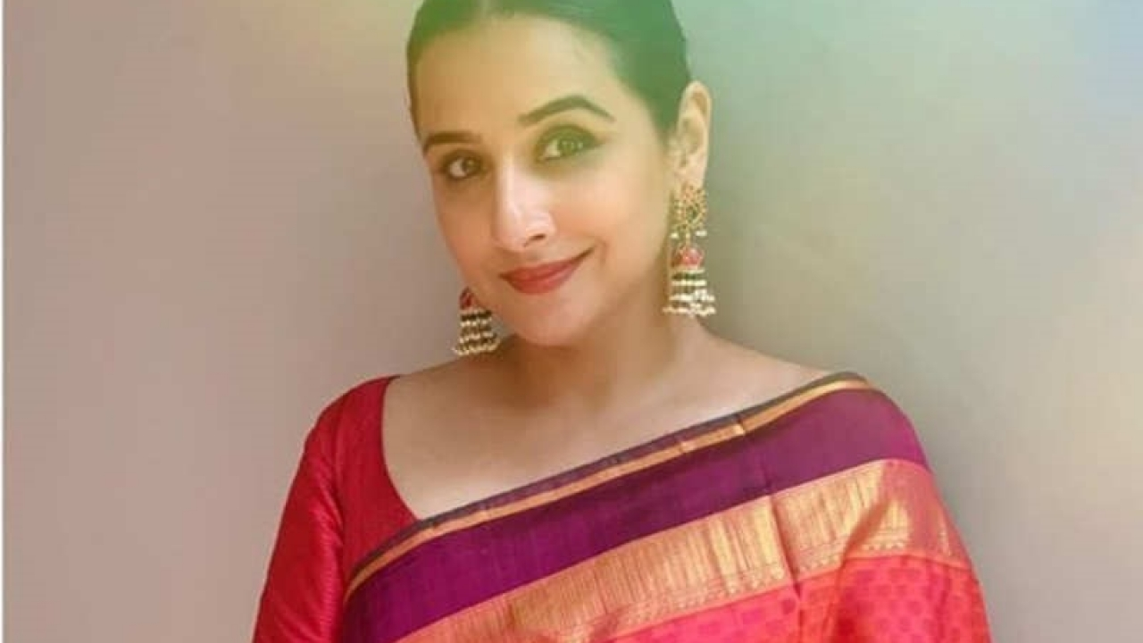 Vidya Balan looks as fresh as sunshine in her latest Instagram picture