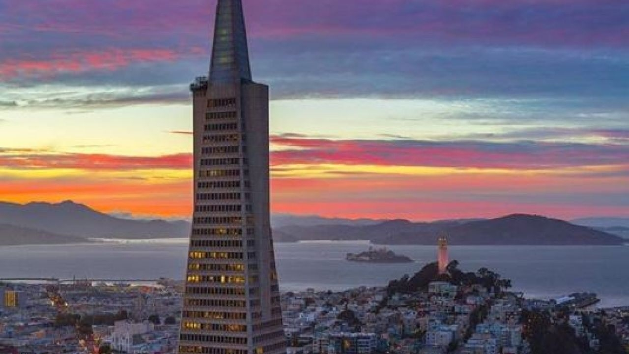 The Transamerica Pyramid building in San Francisco sold to a New Yorker
