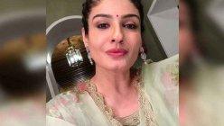 Raveena Tandon all set for pre-Karwa Chauth bash