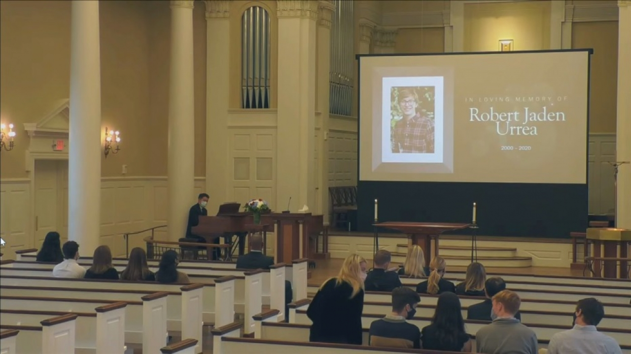 SMU honored a student who was shot and killed in Downtown Dallas last weekend
