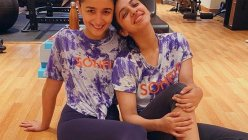 Alia Bhatt hits the gym with her BFF Akansha Ranjan Kapoor