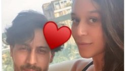 Krishna Shroff reunites with her brother Tiger Shroff as she returned to home town
