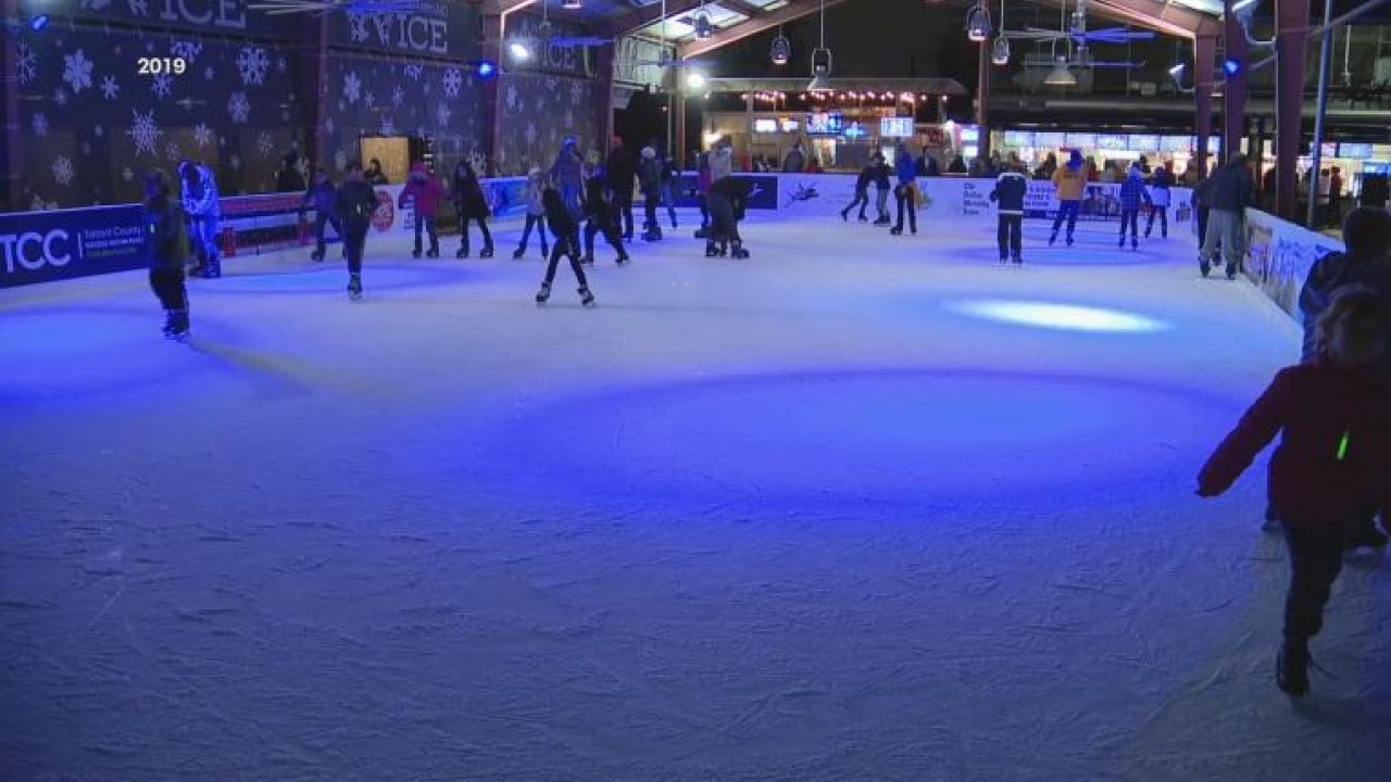 Panther Island ice rink in Fort Worth is back open for the holiday season