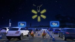 Free holiday-themed drone light show coming to Walmart