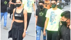Deepika Padukone and Siddhant Chaturvedi strike a stylish pose as they got snapped in the city
