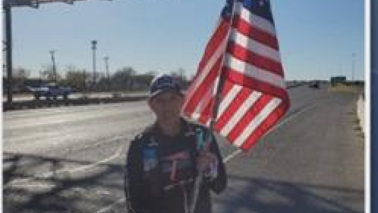 Marine veteran to run 250 miles to honor fellow veterans who had PTSD