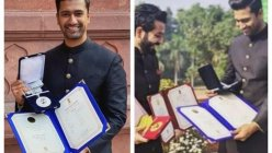 Vicky Kaushal and director Aditya Dhar celebrate one year of National Award win for their film 'Uri