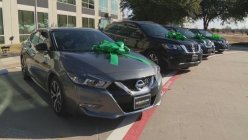 North Texas Collision Repair company donates new cars to four COVID frontline workers