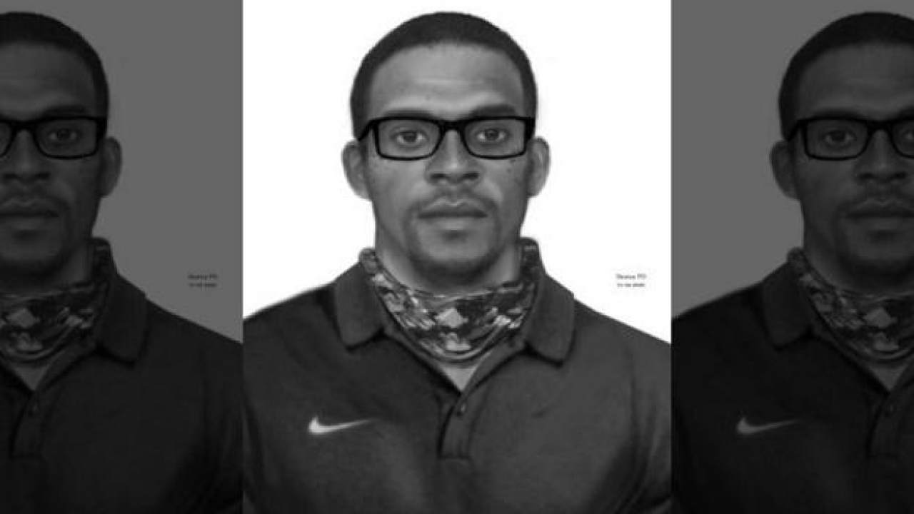 Denton police officers released the sketch of the sex assault suspect