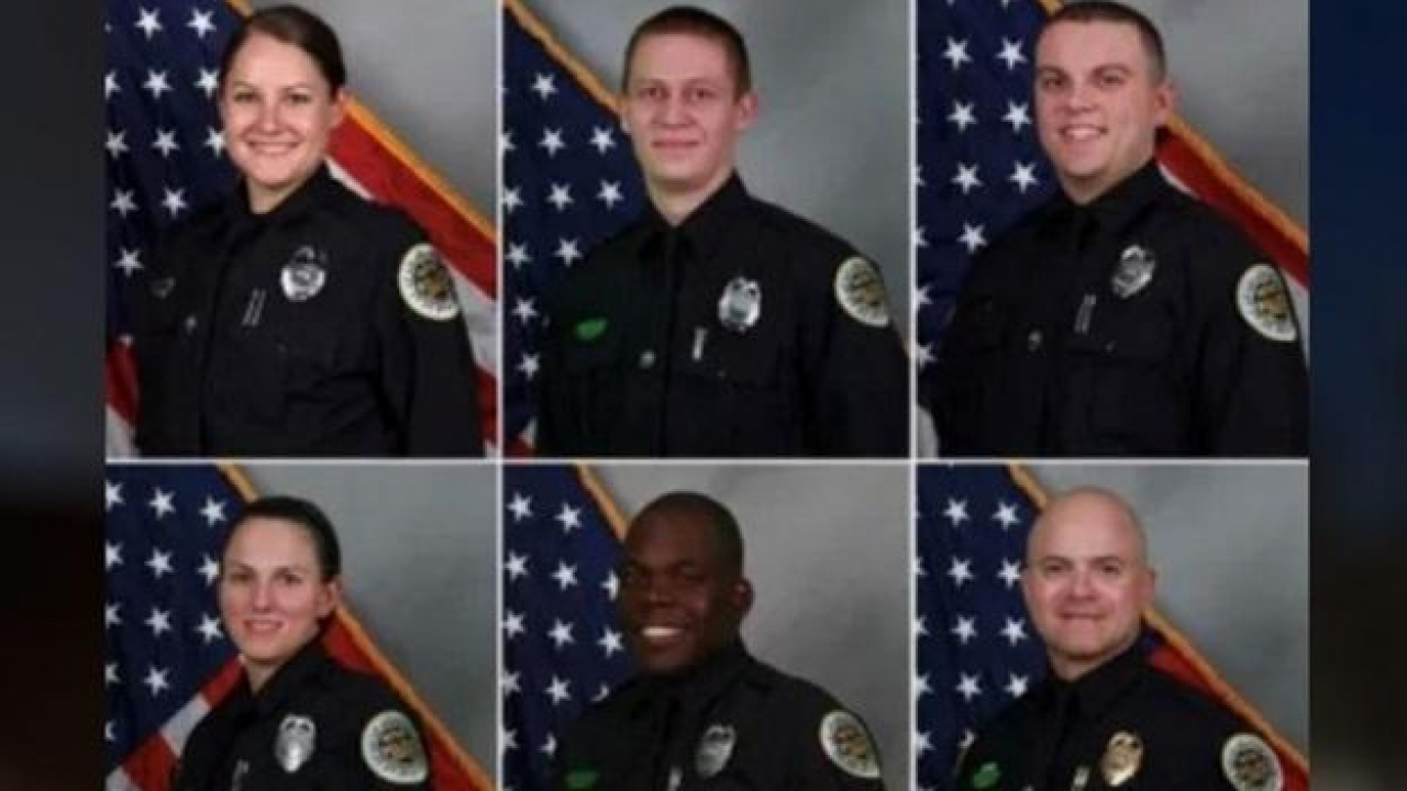 Six officers from Nashville recognized for evacuating residents before the Christmas Day explosion