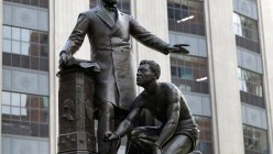 Boston removes the statue of Abraham Lincoln with a freed slave kneeling down at his feet