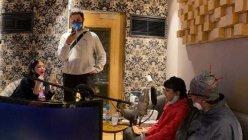 Amitabh Bachchan records music with Abhishek Bachchan, Aishwarya Rai Bachchan and Aaradhya
