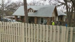 A Woman in critical condition after she was pulled from a house fire in Fort Worth