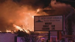 A fire broke out in Pleasant Grove Church in Dallas