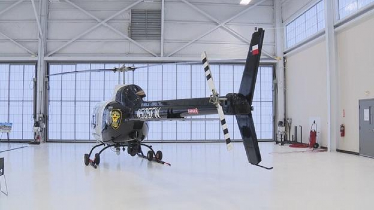 Fort Worth Police Department showed off the new helicopter to fight crime