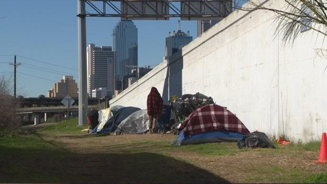 Dallas organizations to work with the city to secure hotel rooms for the homeless during cold weather