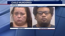 Woman and her boyfriend charged with murdering her 8-year-old son after violently abusing him