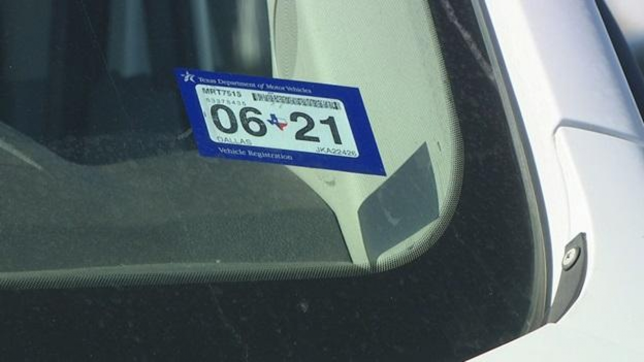 1 million North Texans need to renew vehicle registration before waiver ends in April