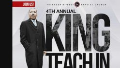 Dallas pastor to pay tribute to Dr. Martin Luther King Jr.'s legacy