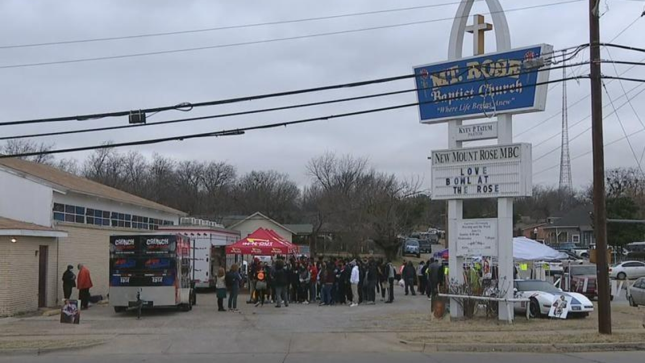 Monday was the day of service across North Texas as Americans honored the legacy of Dr. Martin Luther King, Jr.